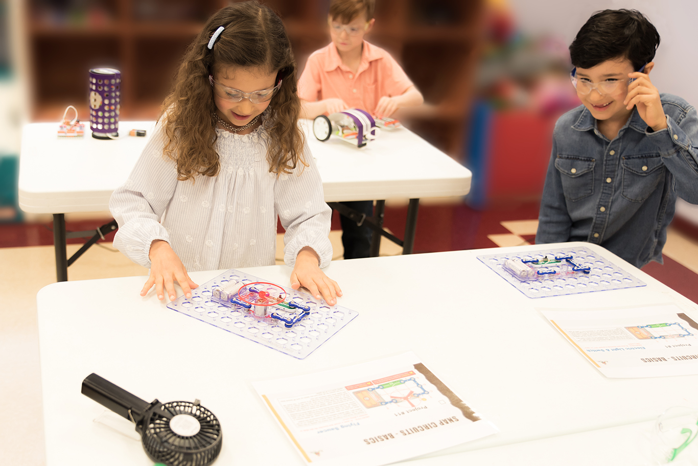 Light, Spin, Sound with Snap Circuits®