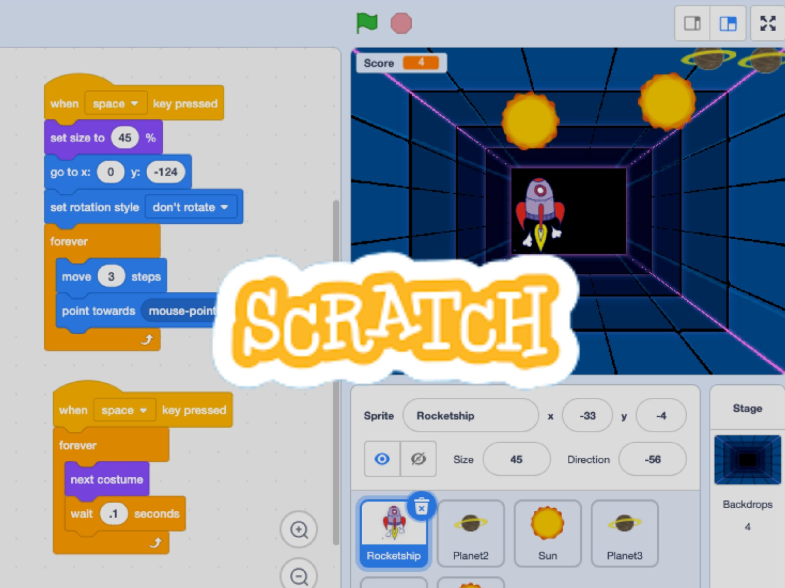 Become a Game Designer with Scratch MIT - Level I (Virtual Program)