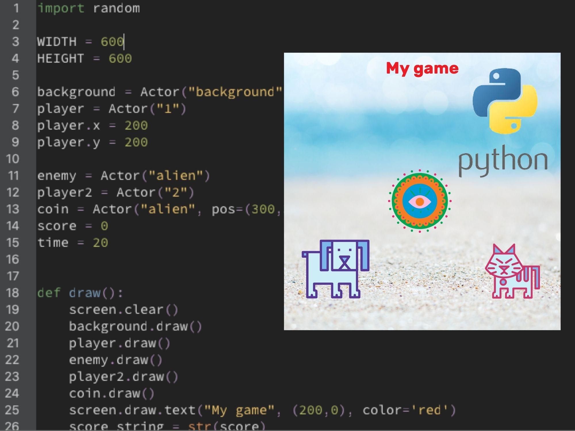Become a Game Designer with Python - Level I (Virtual Program)
